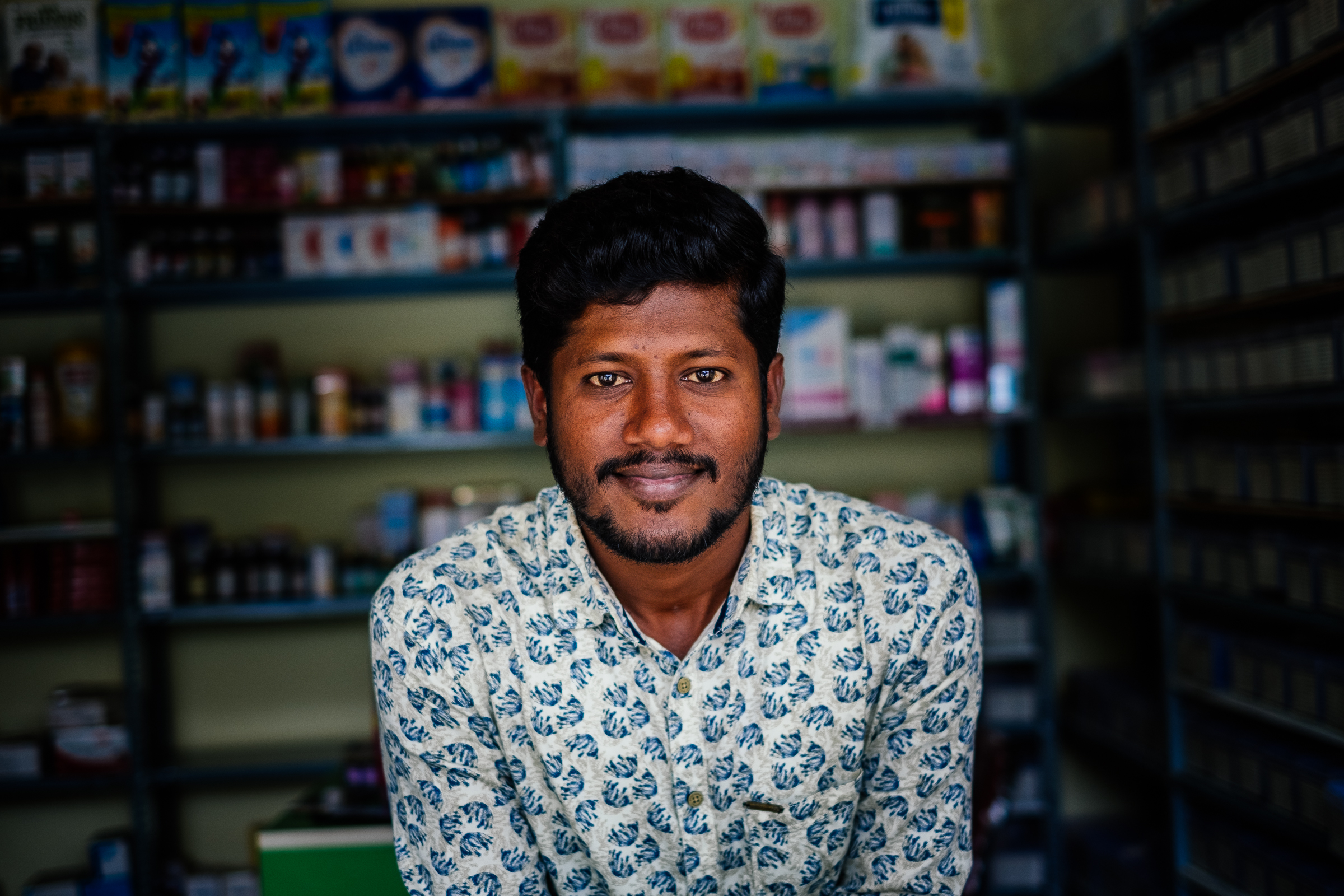 We did a co-creation session with Keval, a pharmacist in Bangalore who was doing his best to do the right thing and educate his patients.