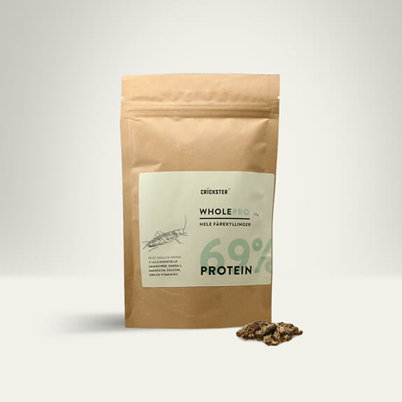 Freeze-dried House Crickets (Achetta domesticus)- Protein powder with 69% protein