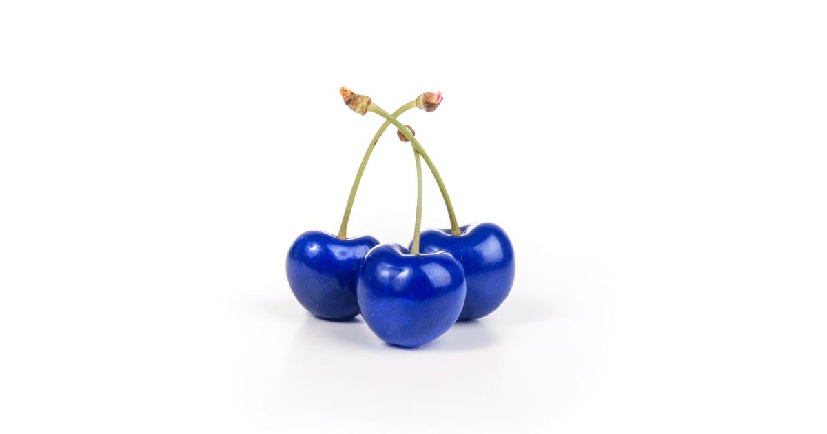 Fake Blue Cheries