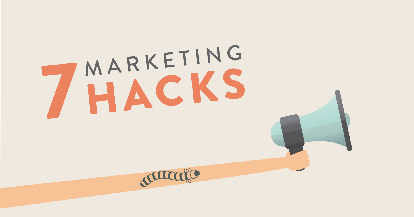 Megaphone Illustration - Seven insect marketing hacks