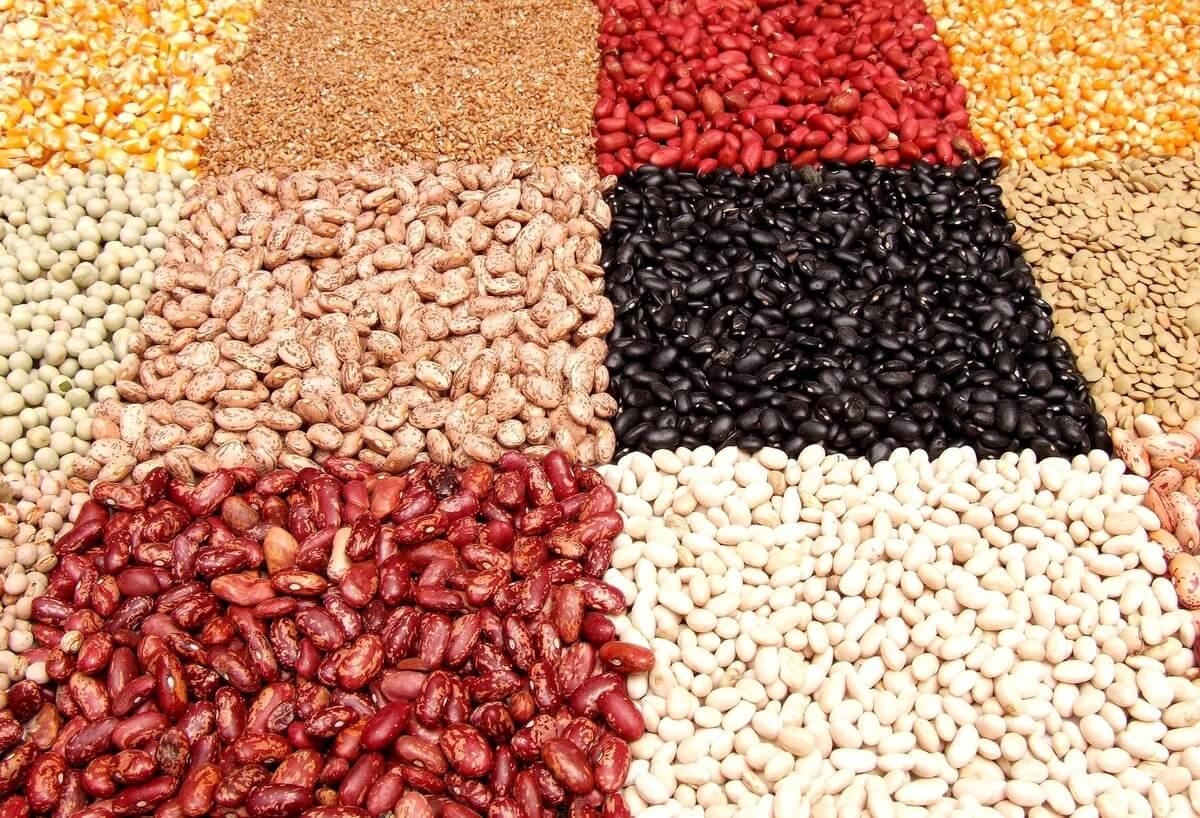 Beans in bulk