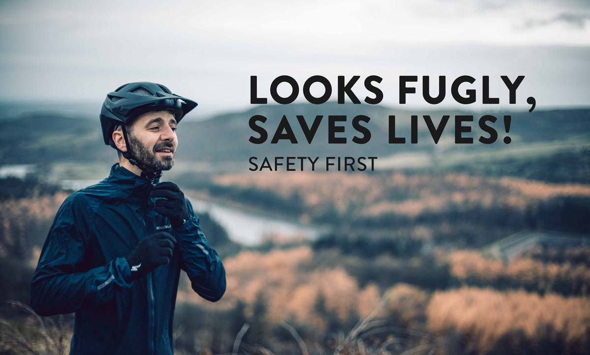 Looks Fugly, saves lives - Helmet commercial - Safety first
