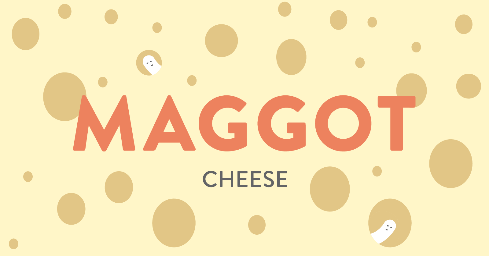 Maggot cheese