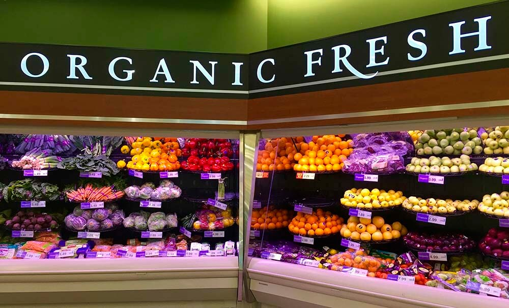Organic product isle