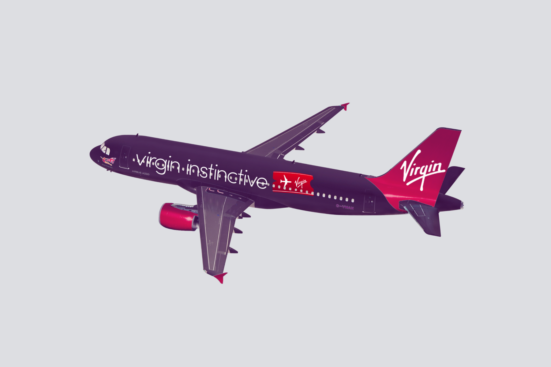 Virgin Instinctive Aeroplane