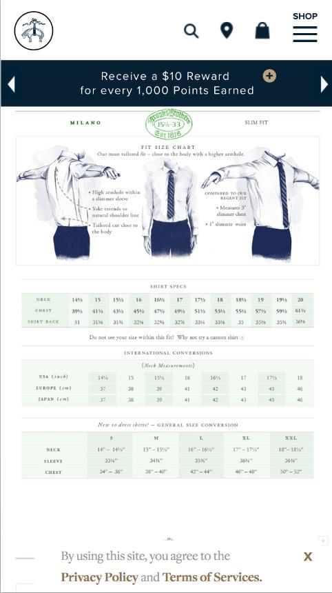 Dress Shirt Measurements Good Fit Starts Here