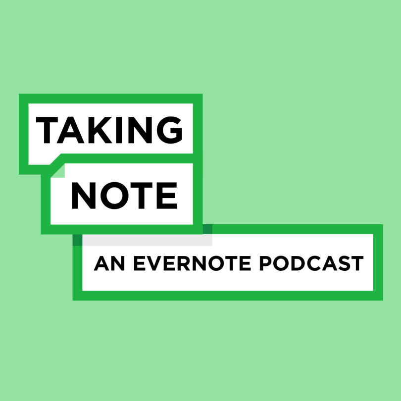 top 10 podcasts cross campus career development personal development podcast taking note conversations with evernote