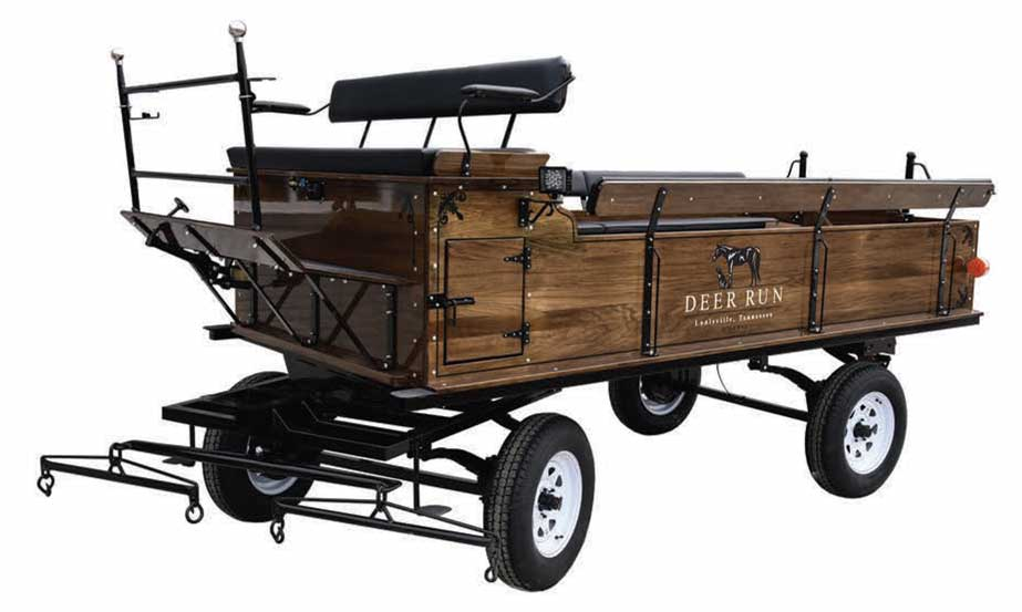 Weaver Fifth-Wheel Horse Wagons