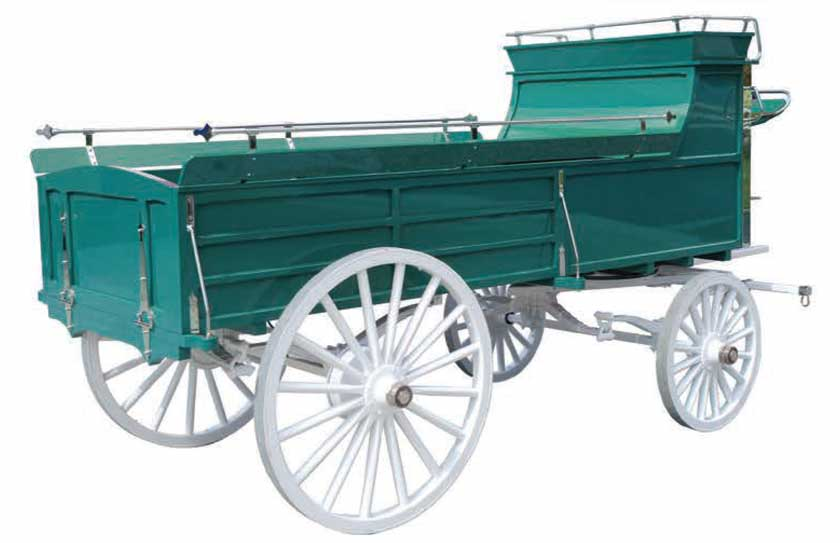 Weaver Custom Hitch Wagons