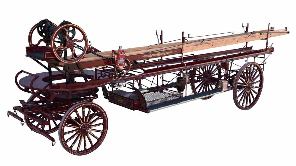 ittle Wiz Fire Wagon Restored by Weaver Wagons