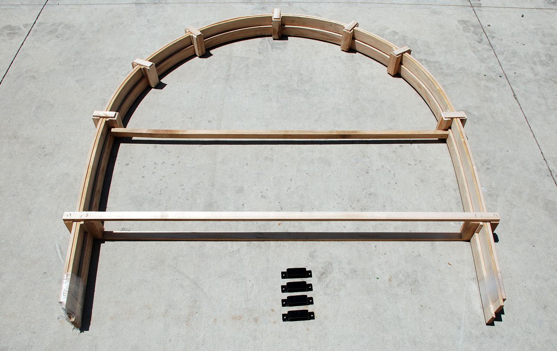 Horse Wagon Bows & Brackets