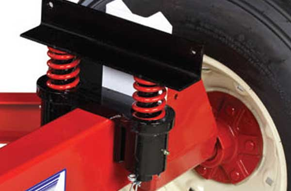 Bolster Spring Wagon Suspension