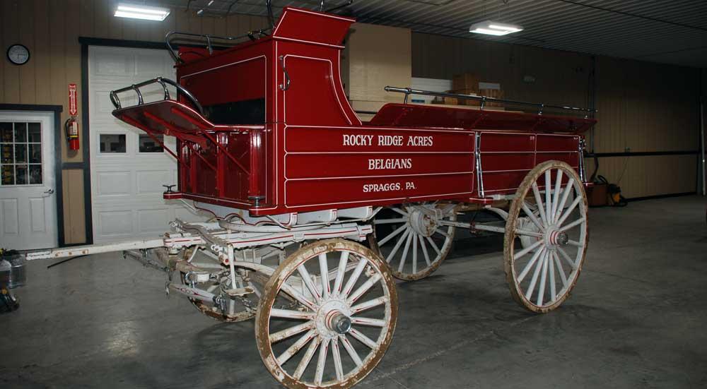 Wagon Restoration - Before