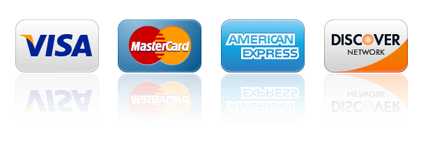 fire & ice accepts all majors credit cards