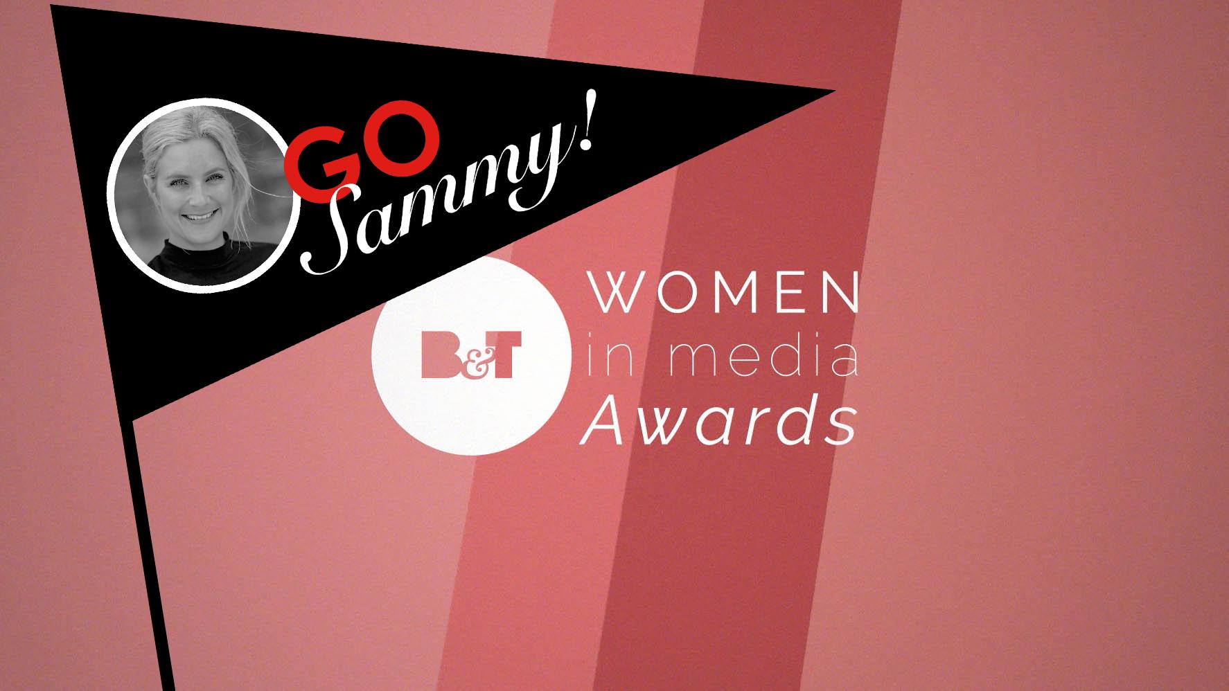Sammy Bolton in Women in Media Awards