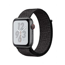 Apple Watch Nike+ Series 4 GPS + Cellular, 40mm Space Grey Aluminium Case with Black Nike Sport Loop