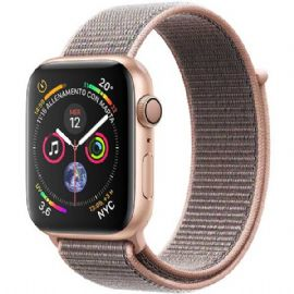 Apple Watch Series 4 GPS, 44mm Gold Aluminium Case with Pink Sand Sport Loop
