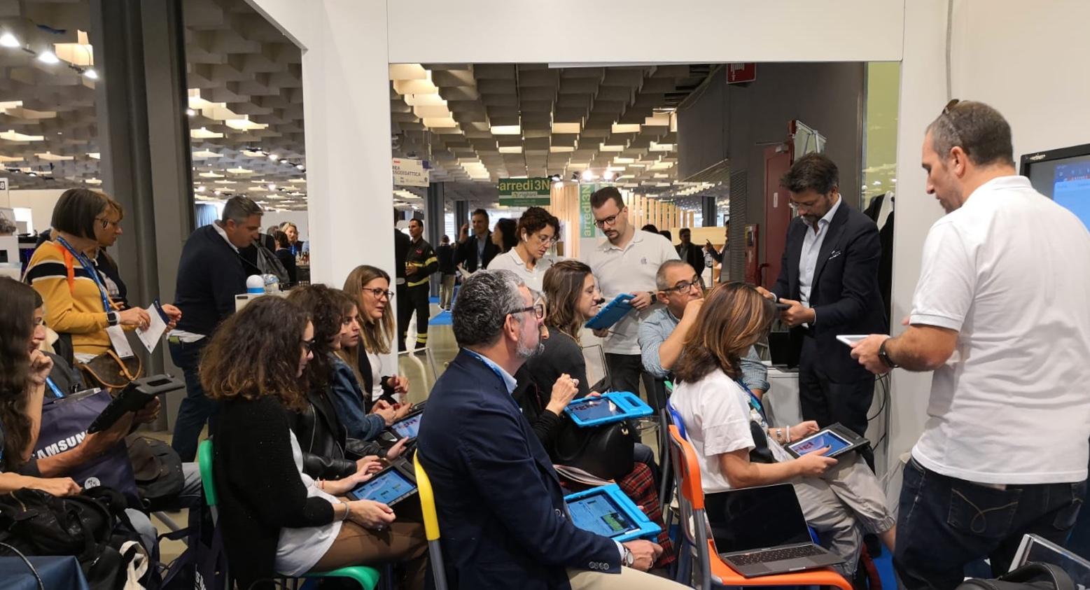Apple Education team di C&C Consulting partecipa a Didacta
