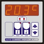 Climatec - CLT12 High/Low Alarm Thermostat