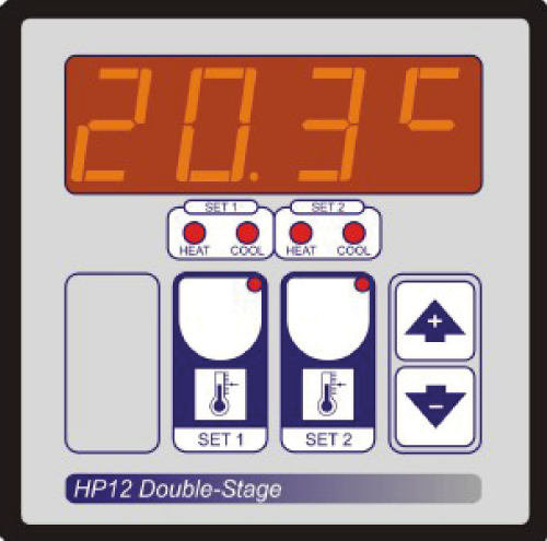 Climatec - HP12 - Single Zone Dual Setpoint Thermostat