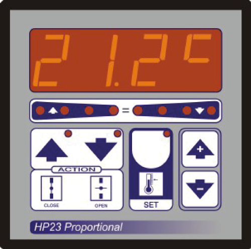 Climatec - HP23 Floating Proportional Control