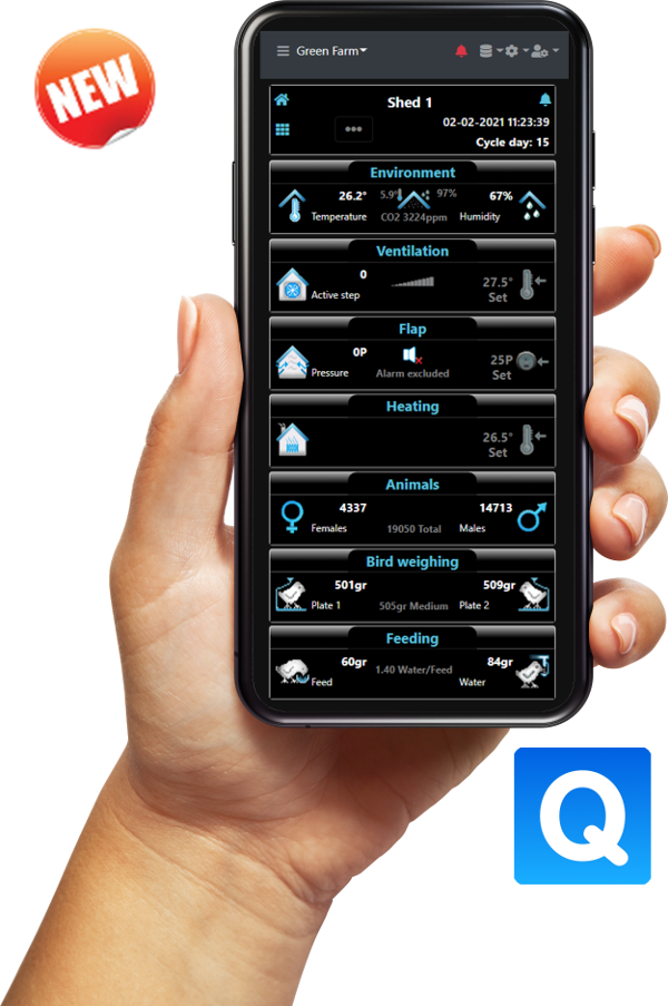 Climatec System - Qcloud- Livestock Controller