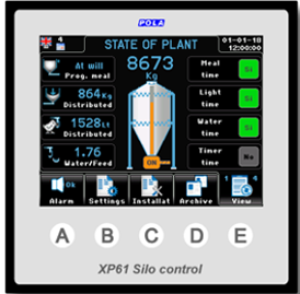 Climatec Systems - XP61 Silo Control