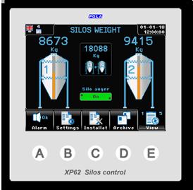 Climatec Systems - XP62 Silos Control