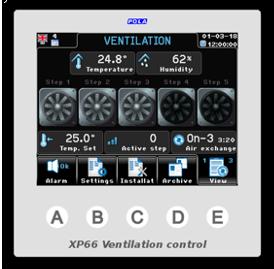 Climatec Systems - XP66 Ventilation control