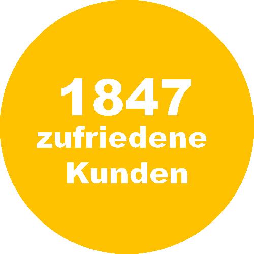 1847 zufriedene Kunden