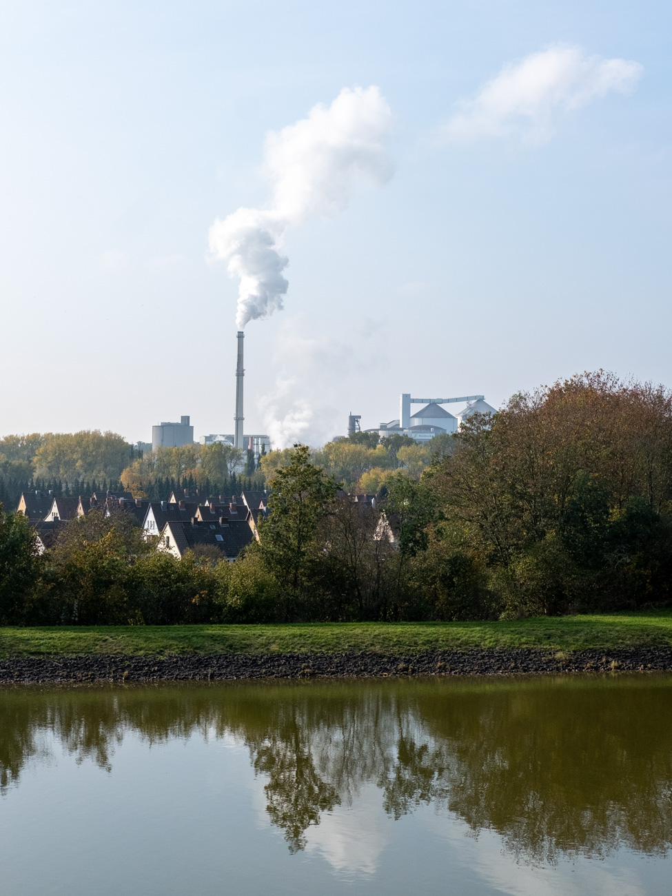 A Sugarfactory in Uelzen, Germany.