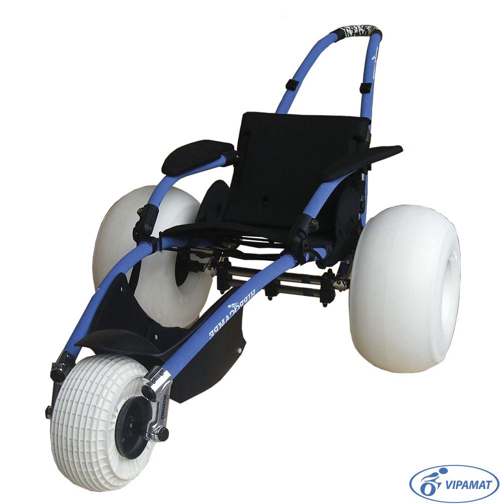 Lightweight Leisure Collapsible Beach Wheelchair