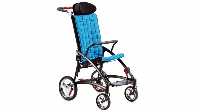 Cricket Folding Push Wheelchair R82