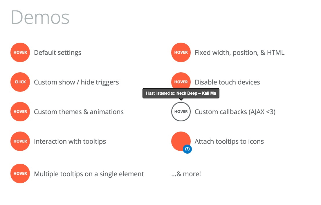 Tooltipster Onboarding UX