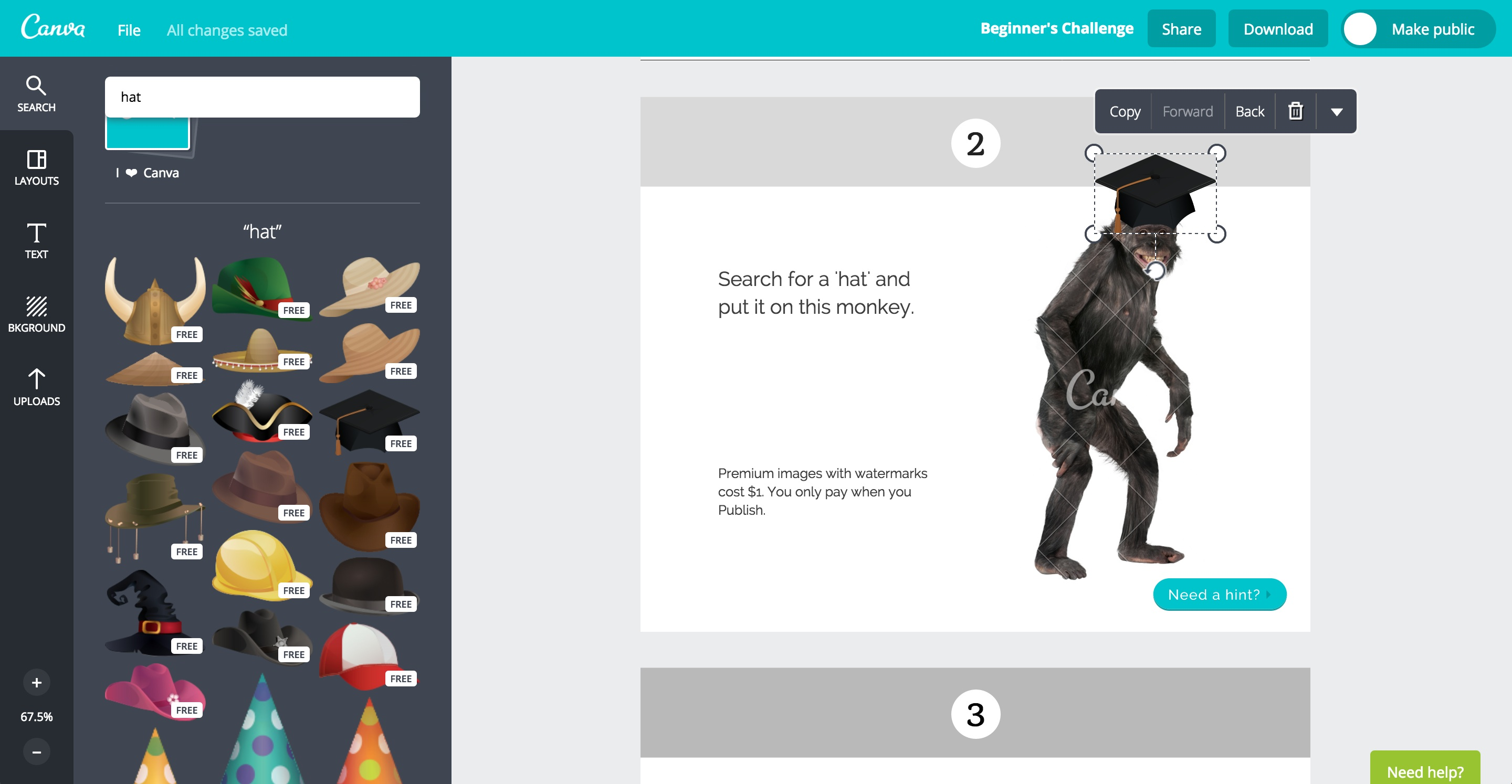 canva user onboarding step 9