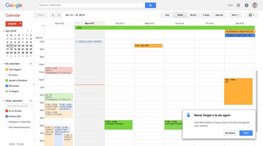 calendar feature release
