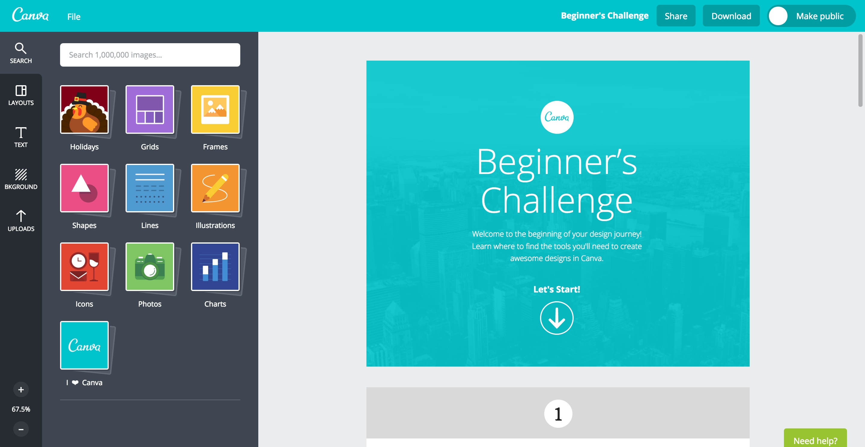 canva user onboarding step 5