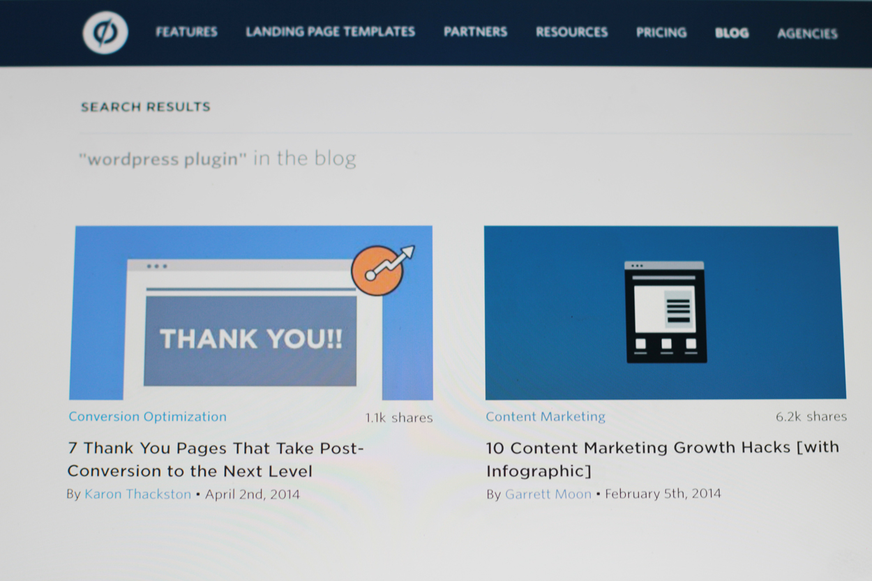 Unbounce blog product release