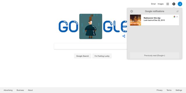 Google Photo in-app widget