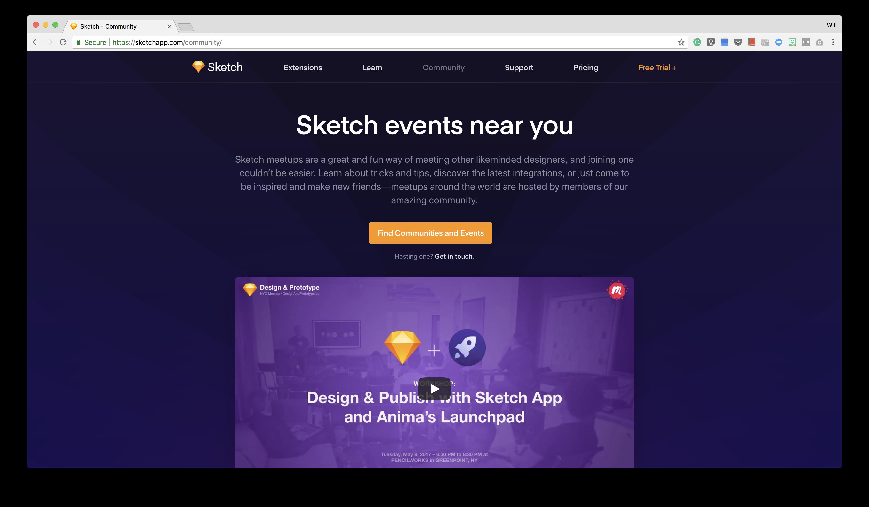 """Sketch's """"scaffolding"""" hub"""