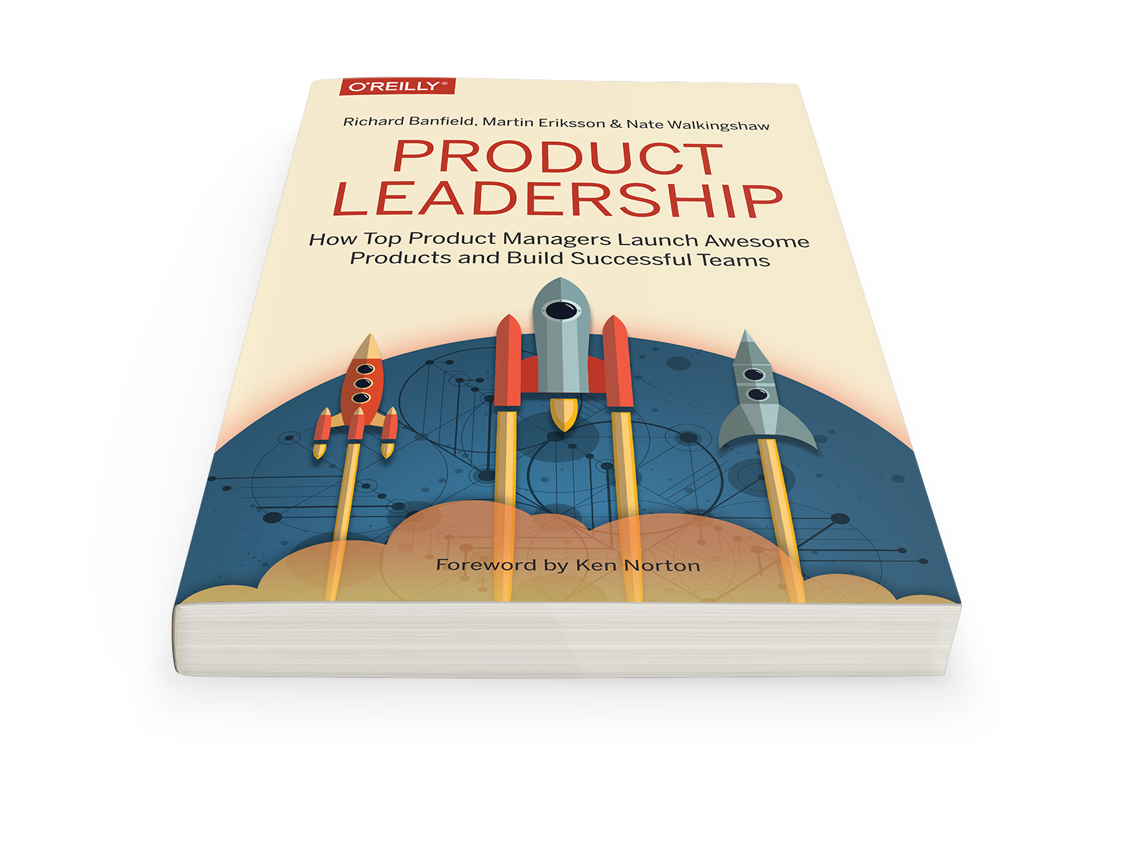 A picture of RIchard Banfield's book titled Product Leadership: How Top Product Managers Launch Awesome Products and Build Successful Teams