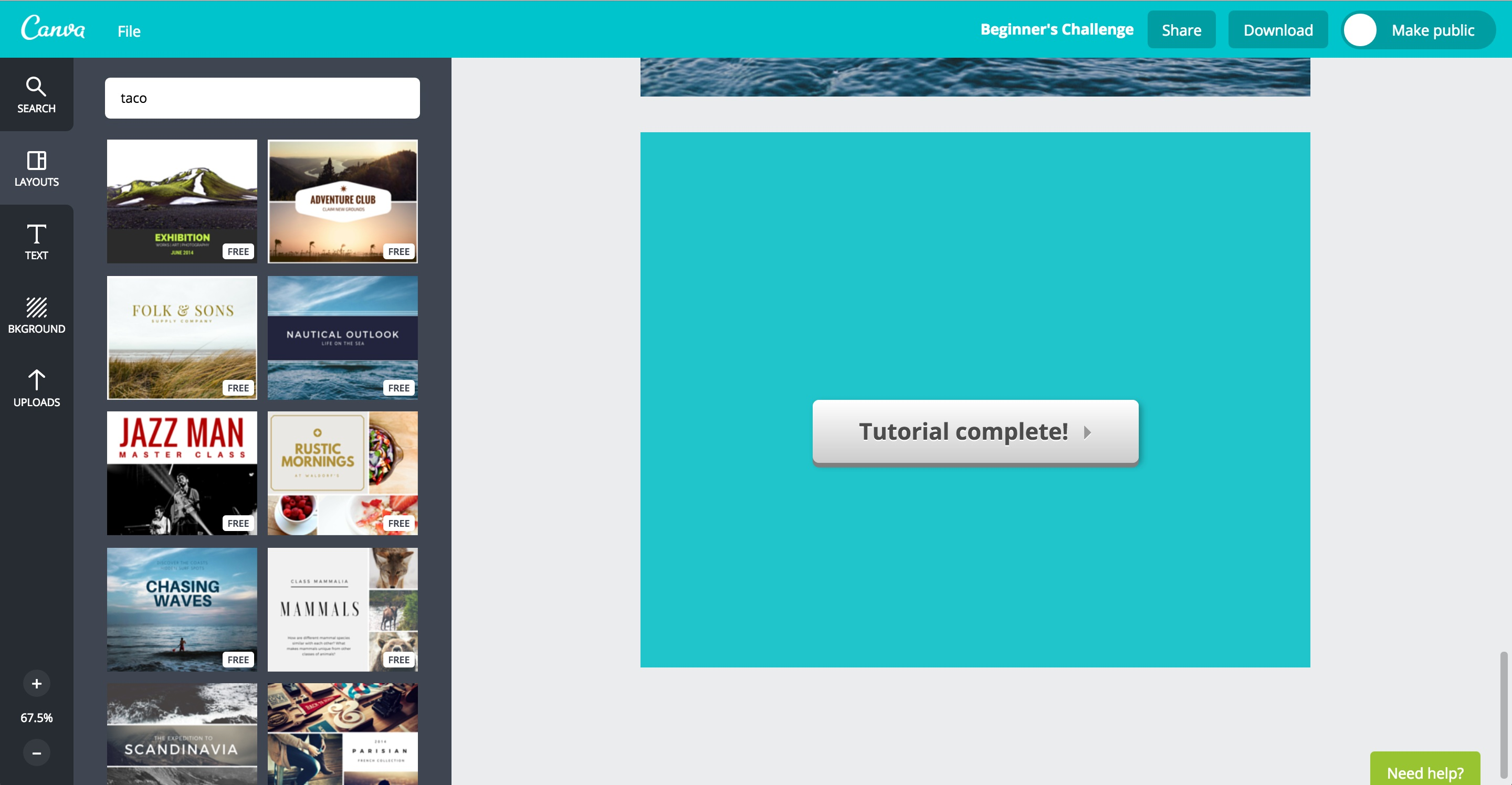 canva user onboarding step 14