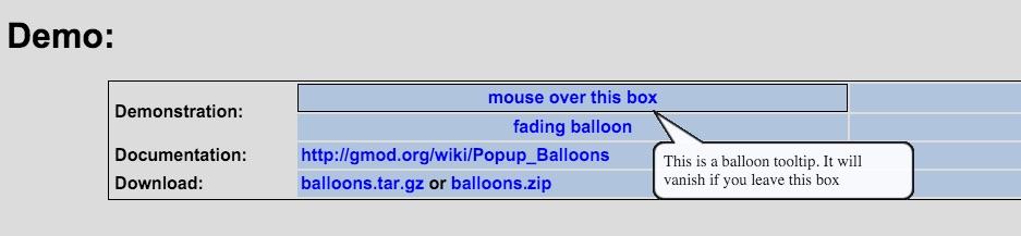 Baloon.js