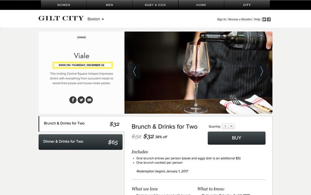 gilt city scarcity growth deadline