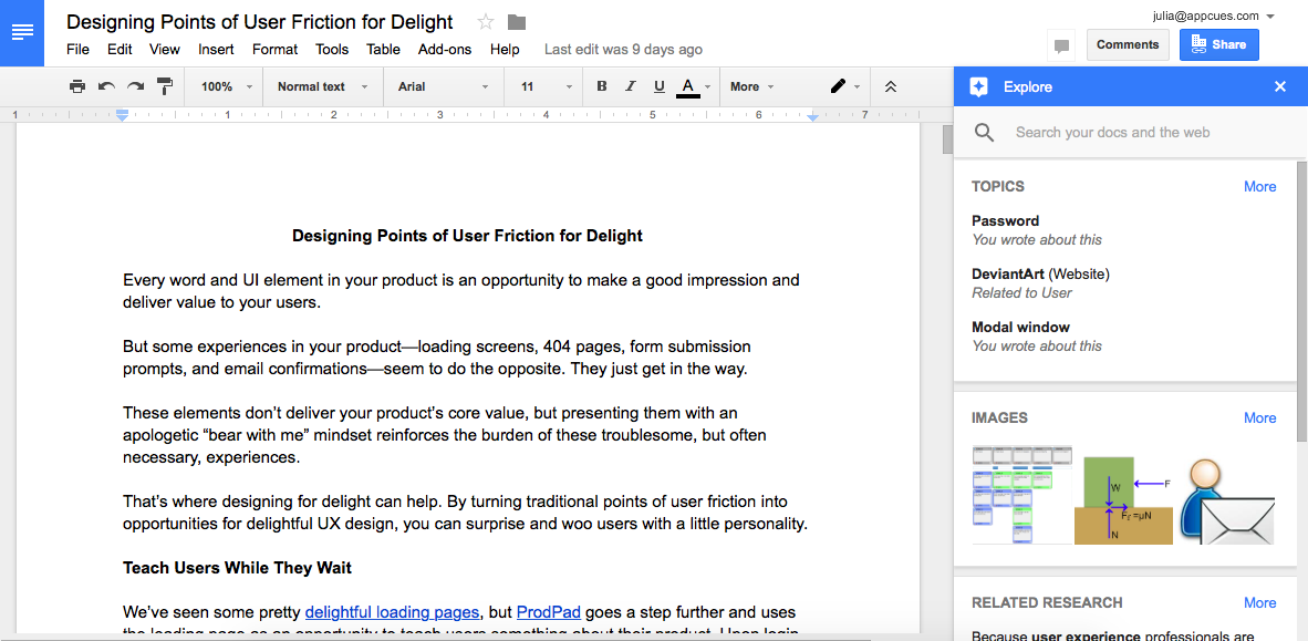 Google Drive Explore feature 2