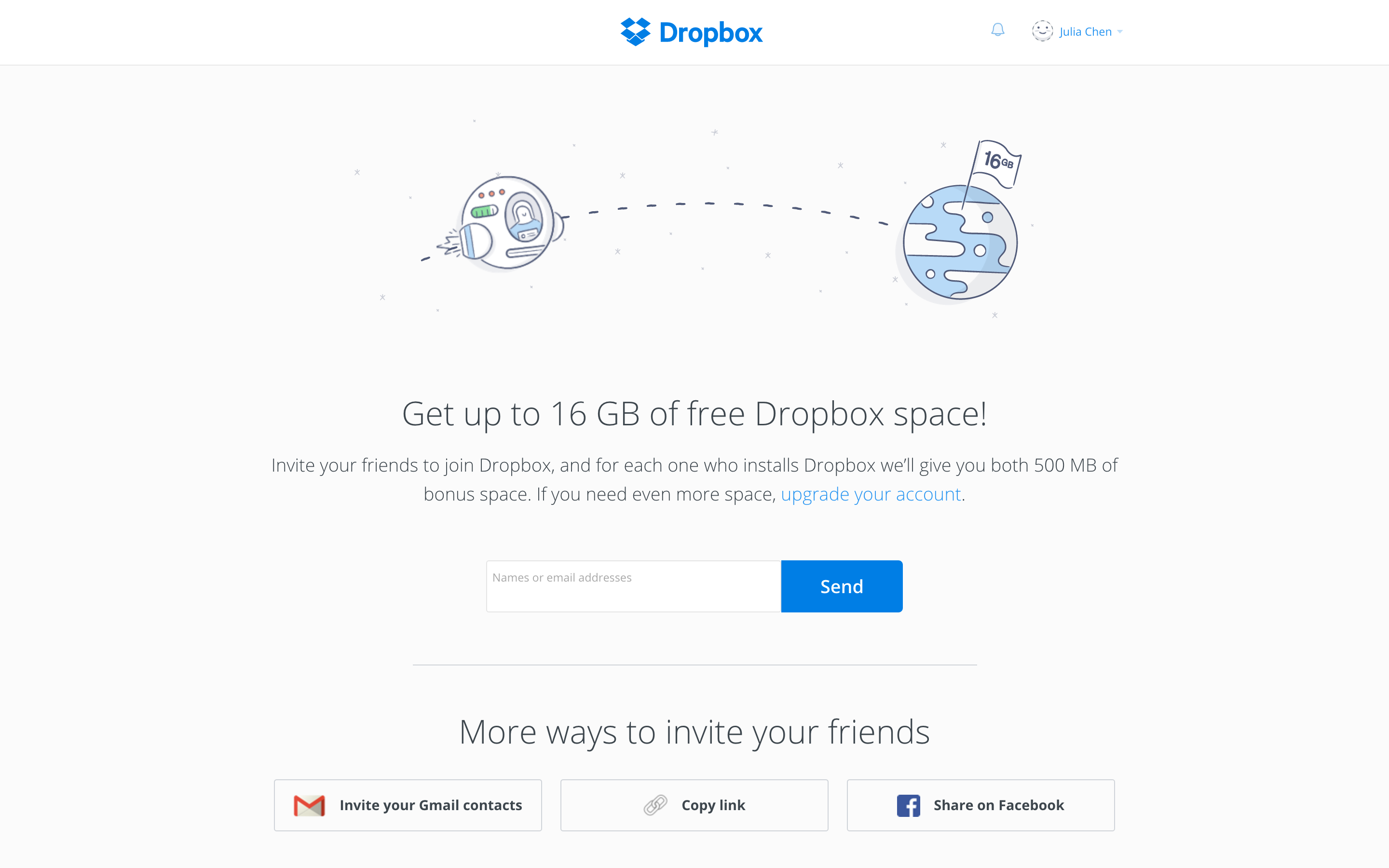 dropbox growth strategy referral program
