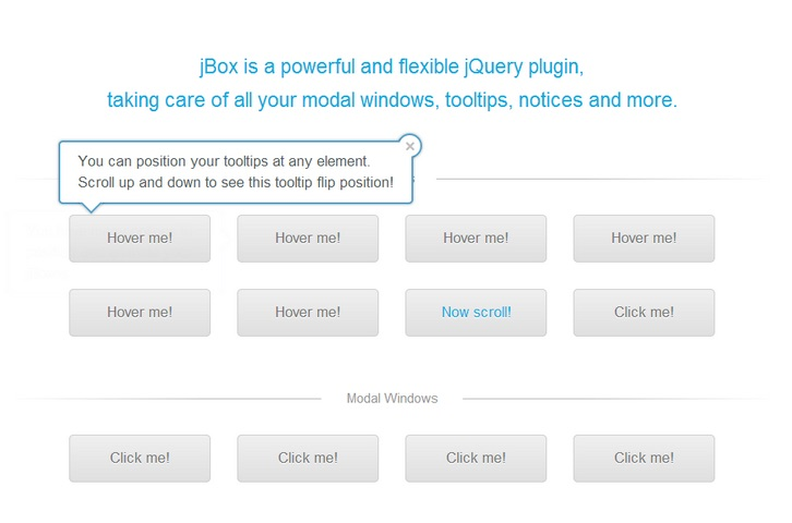 JBox jQuery Plugin for Tooltips