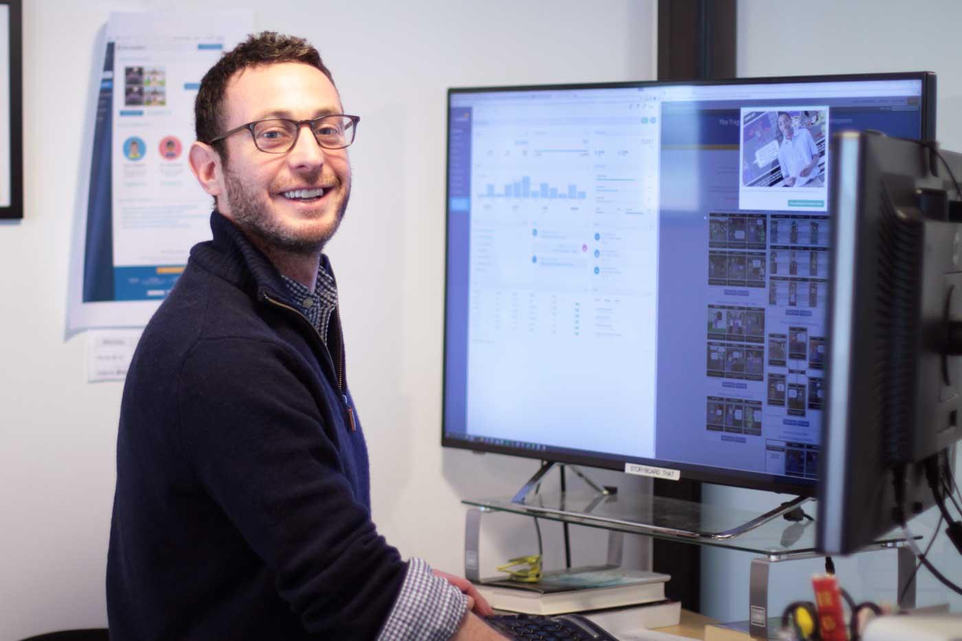 CEO Aaron Sherman, Storyboard That
