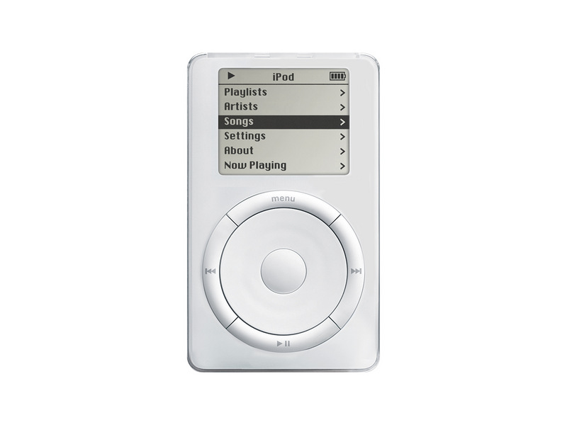 The iPod click wheel made controlling the iconic Apple device easy and simple for all users, and contributed to its success.