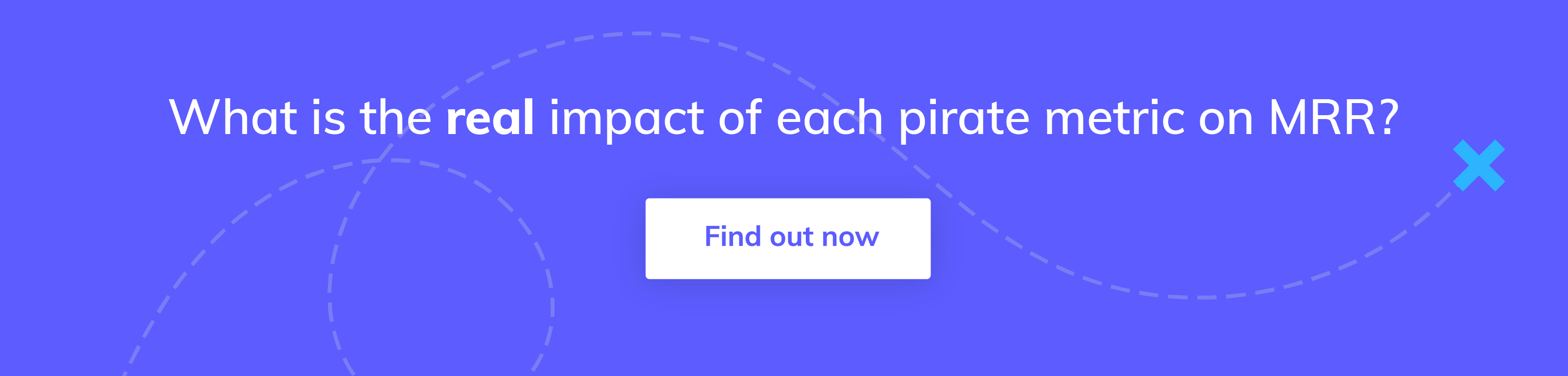 Click on this call to action button to go to the Appcues Pirate Metrics Calculator, a free tool to help you compare the impact of each metric on your saas business growth.